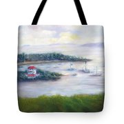 Cruz Bay Remembered Tote Bag