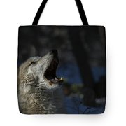 Cry In The Wild Tote Bag