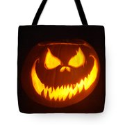 Cryptic Grin Tote Bag