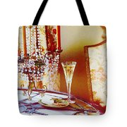 Crystal And Champagne Tote Bag
