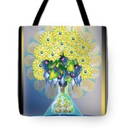 Crystal Boquet Tote Bag