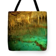 Crystal Cave Hamilton Parish Bermuda Tote Bag