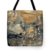 Crystal Cave Marble Formations Portrait Tote Bag