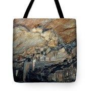 Crystal Cave Marble Tote Bag