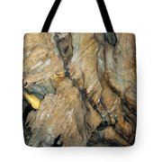 Crystal Cave Wall Formations Tote Bag