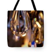 Crystal Chandelier Tote Bag