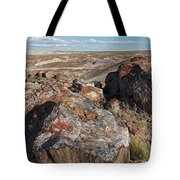 Crystal Forest Stump Tote Bag