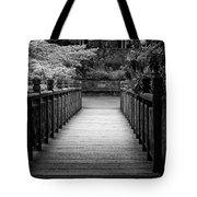 Crystal Garden Bridge Tote Bag