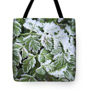 Crystal Leaves Tote Bag