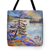 Crystal Light Over The Lake Tote Bag