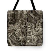 Crystal Mill Marble Colorado Sepia Dsc06944 Tote Bag