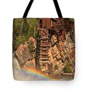 Crystal Mill Rainbow Tote Bag