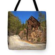Crystal Mill Rainbow Portrait Tote Bag