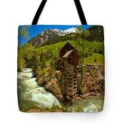 Crystal Mill Summer Landscape Tote Bag
