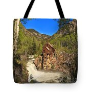 Crystal Mill Through The Trees Tote Bag