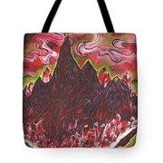 Crystal Mountain Tote Bag
