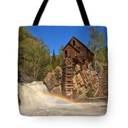 Crystal River Rainbow Tote Bag