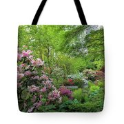 Crystal Springs Rhododendron Garden In Bloom Tote Bag