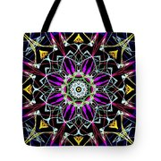 Crystal Sun Tote Bag