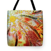 Crystal Sunburst Tote Bag
