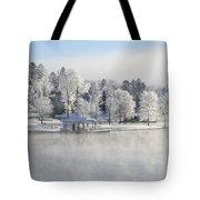Crystal Trees II Tote Bag