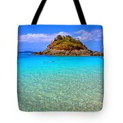 Crystal Waters Tote Bag by Scott Mahon