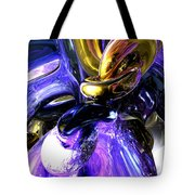 Crystalized Ecstasy Abstract  Tote Bag