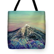 Crystalline Mountain Tote Bag