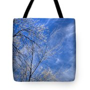 Crystalline Sky Tote Bag