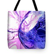 Crystallized Abstract Tote Bag