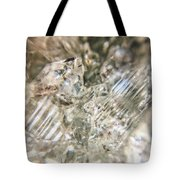 Crystals And Stones Zeolite 4718 Tote Bag