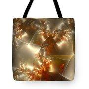 Crystals Of Gold Tote Bag