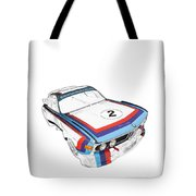 Csl Batmobile Tote Bag