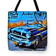 Cuba Antique Auto 1956 Catalina Tote Bag