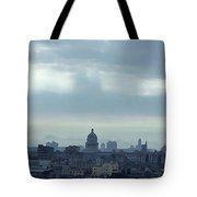 Cuba City And Skyline Art Tote Bag