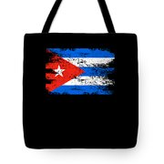 Cuba Flag Gift Country Patriotic Travel Shirt Americas Light Tote Bag