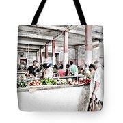 Cuba Market Tote Bag