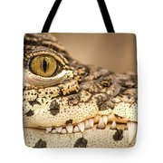 Cuban Croc Smile Tote Bag