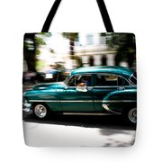 Cuban Green Old-timer Tote Bag