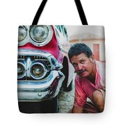 Cuban Mechanic Tote Bag