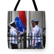 Cuban Raise Tote Bag