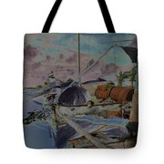 Cuban Refugee Raft  3 Tote Bag