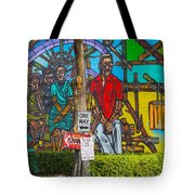 Cuban Street Art Tote Bag
