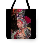 Cuban Tropicana Dancer Tote Bag