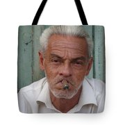Cuba's Faces Tote Bag