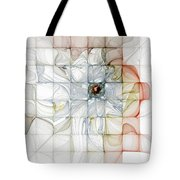 Cubed Pastels Tote Bag