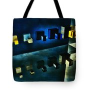 Cubes Reflection Tote Bag