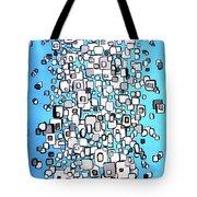 Cubic Separation Tote Bag