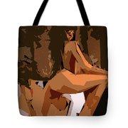 Cubism Series Xix Tote Bag