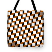Cubism Squared Tote Bag